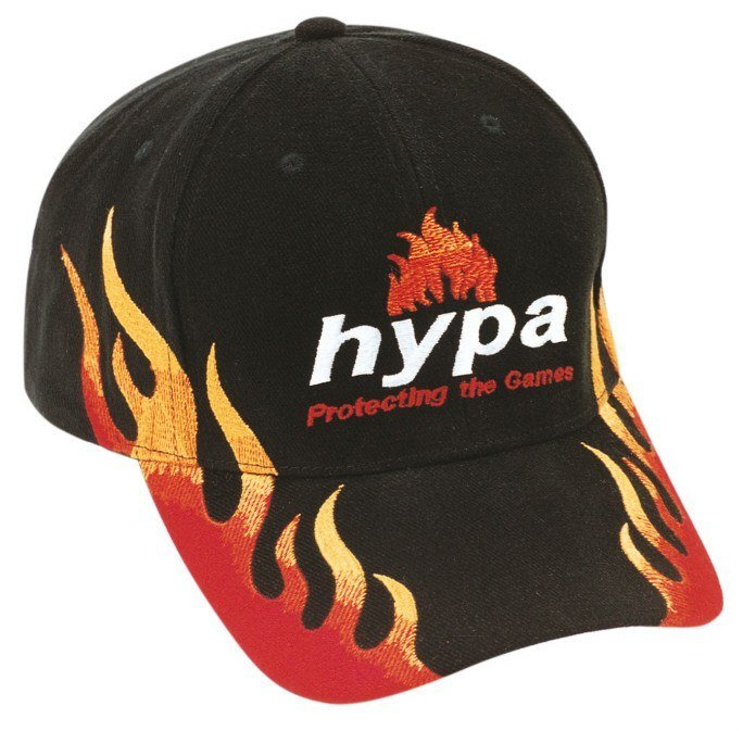 Brushed Heavy Cotton Double Flame Cap