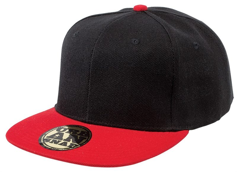Urban Snap Cap - Black Red