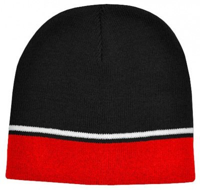 Trim Design Beanie - Promotional Embroidered Beanies  a7473580702