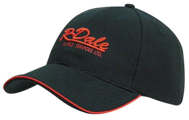 Open Sandwich Double Pique Mesh Cap - Trucker Mesh Caps  c894cbdfcebe