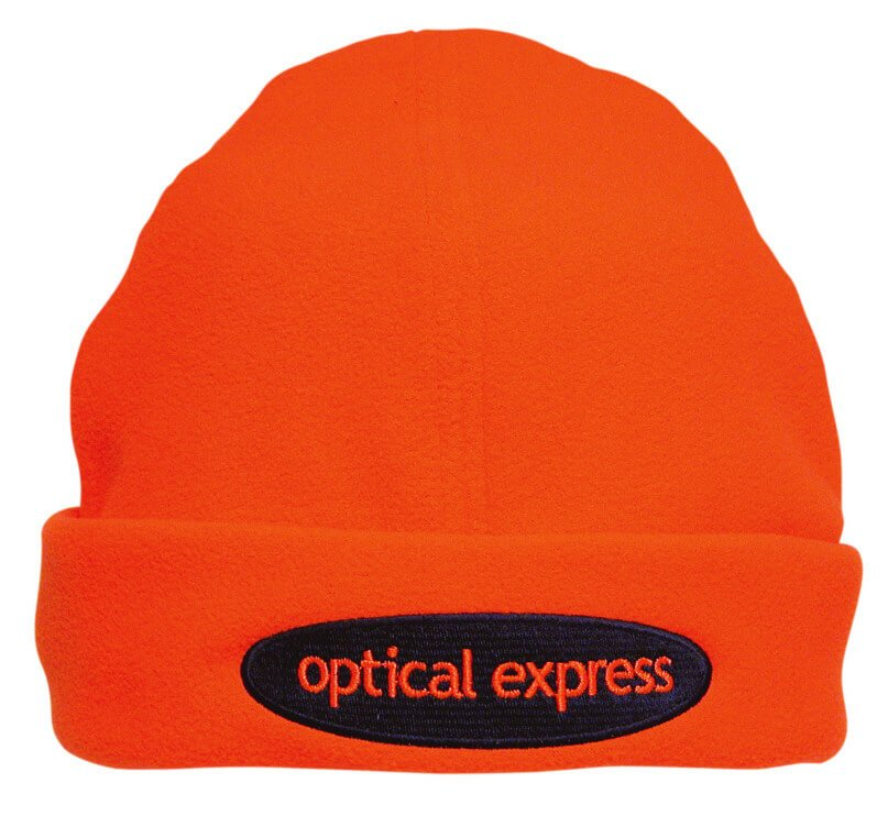 4191bc50c3092 Luminescent Safety Beanie - Custom Embroidered Beanies