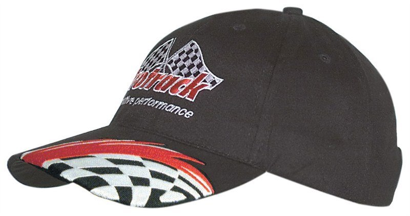Swoosh Check Embroidery Brushed Cotton Cap