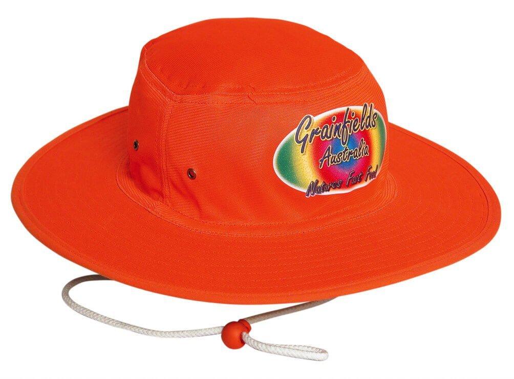 8fbd883bd08 Luminescent Safety Hat - Custom Printed Sun Hats
