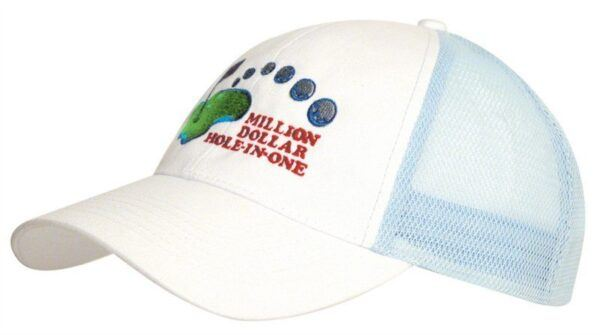 Brushed Cotton Mesh Back Cap