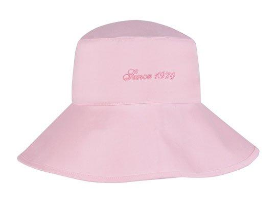 Ladies Pink Bucket Hat