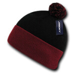 Athletic Pom Pom Beanie