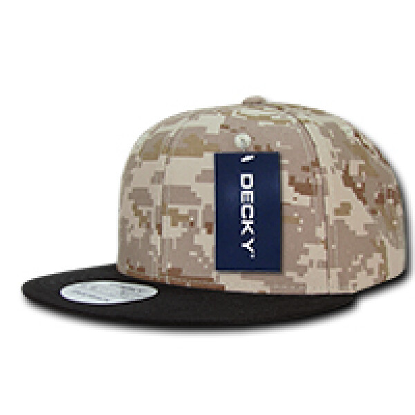 Digital Camouflage Snapback