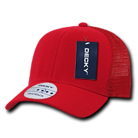 Curved Peak Trucker Cap