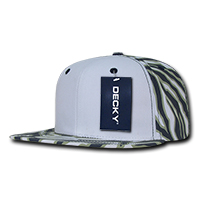Ziger White Front Snapback