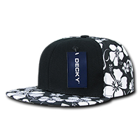 Floral Solid Front Snapback
