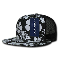 Floral Five Panel Trucker