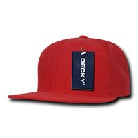 Corduroy Snapback Red