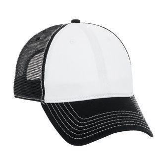 Six Panel Garment Cotton Twill Cap