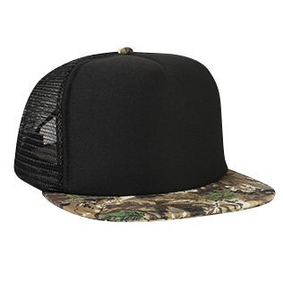 f9c28b04ed8 High Crown Camo Golf Mesh Cap - Promotional