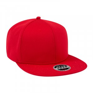 Poly Cool Mesh Flat Cap