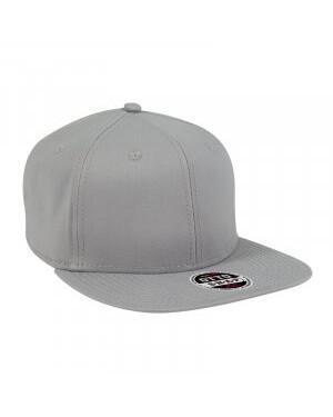 Stretch Cotton Twill Flat Cap