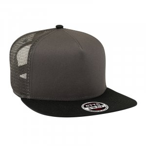 Superior Cotton Mesh Flat Cap