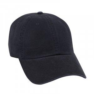 Garment Wash Combed Cotton Twill Cap