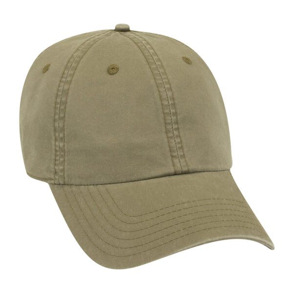 Six Panel Garment Washed LW Cotton Dad Cap