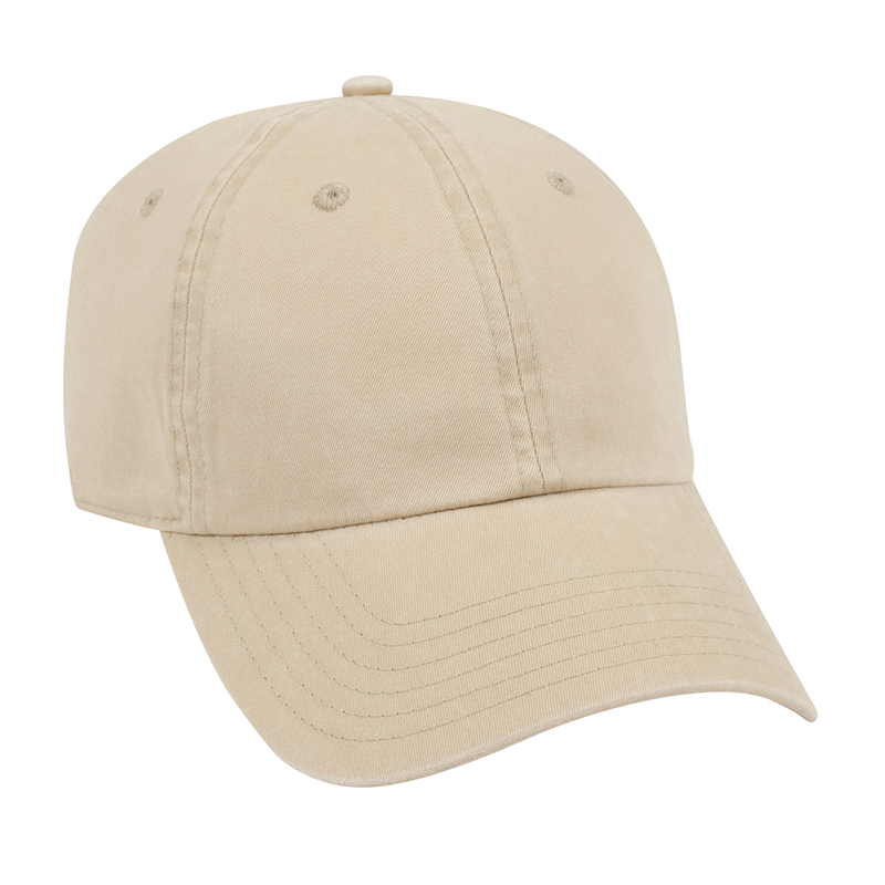Six Panel Garment Wash L/W Cotton Dad Cap