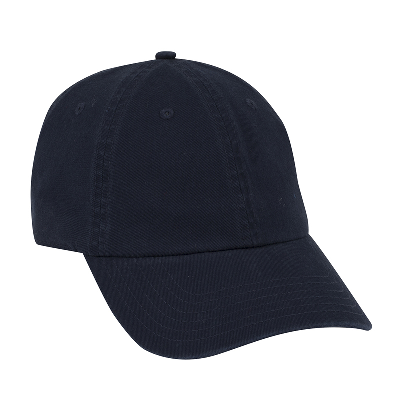 Six Panel Garment Wash Cotton Dad Cap
