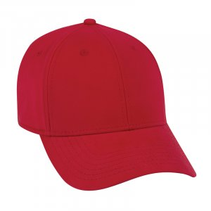 Brushed Stretch Cotton Twill Cap