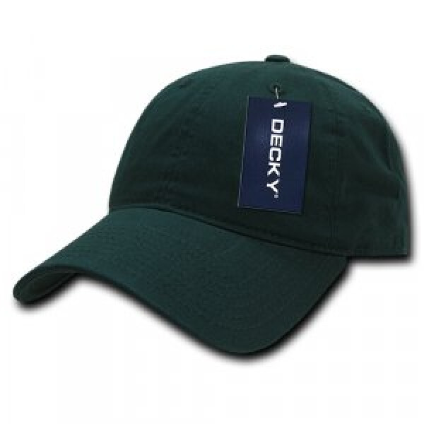 Washed Cotton Polo Cap