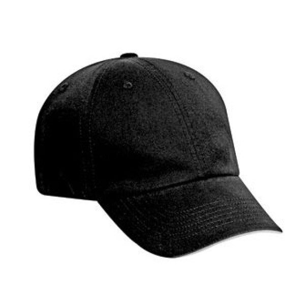 Six Panel Washed Cotton Twill Cap