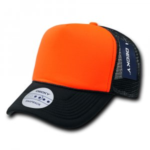 Two Tone Neon Trucker Cap