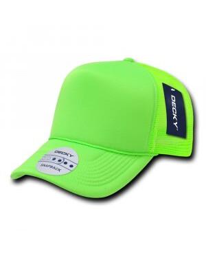 Solid Colour Neon Trucker Cap