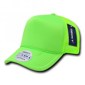 Solid Colour Neon Trucker Cap