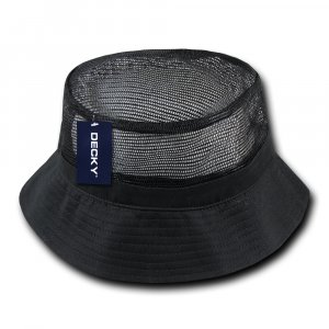 4ff6ad41f61d8 Mesh Bucket Hat - Embroidered Promotional Bucket Hats