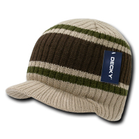Striped College Jeep Cap