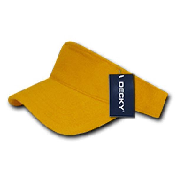 Terry Visor Yellow