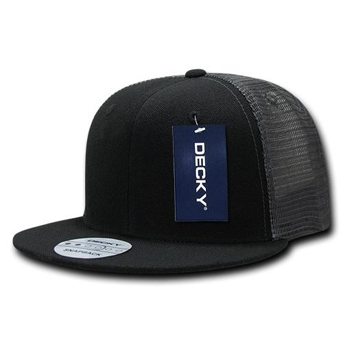 Flat Peak Trucker Cap