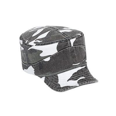 Bendable Peak Military Cap