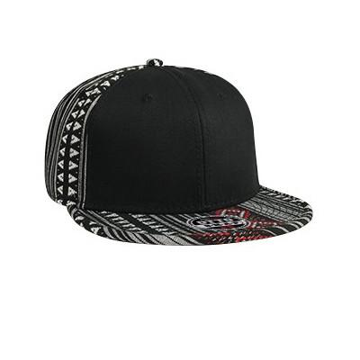 Six Panel Aztec Cap