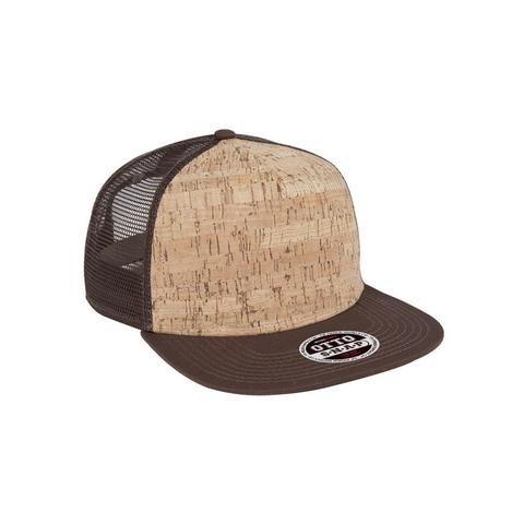 Five Panel Cork Mesh Cap