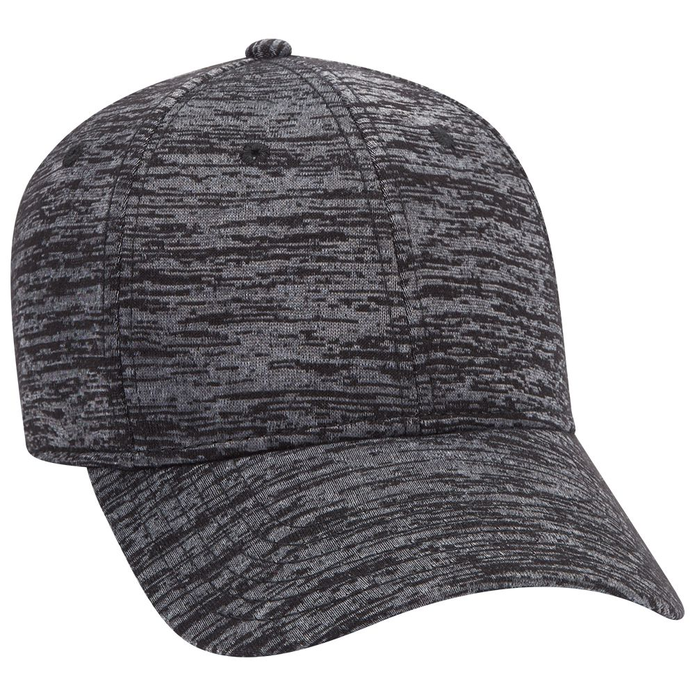 Six Panel Rayon Blend Jersey Knit Baseball Cap - Customised | Fast Caps