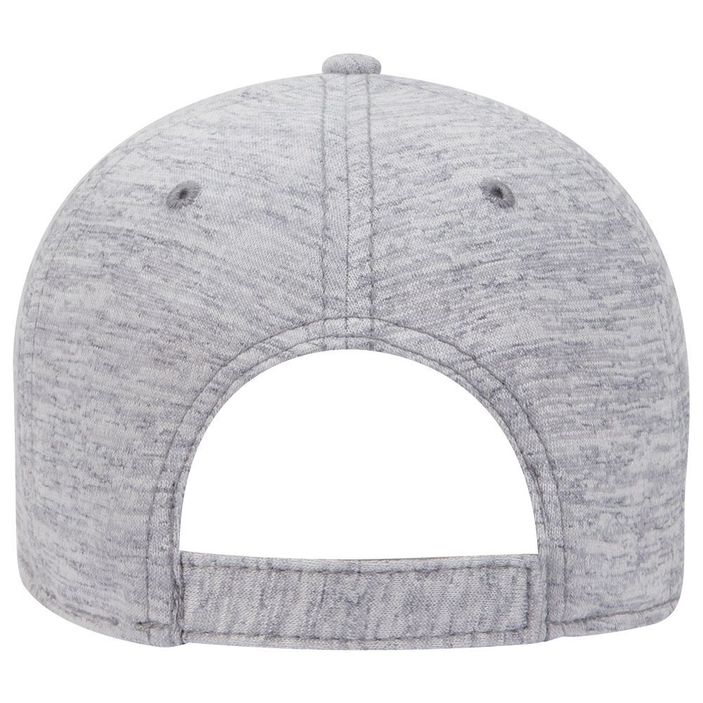 Six Panel Rayon Blend Jersey Knit Baseball Cap - Customised  98d709169bc