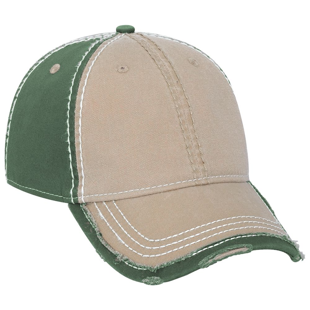Six Panel Vintage Washed Cap - Custom Caps  84a49c8a95ed