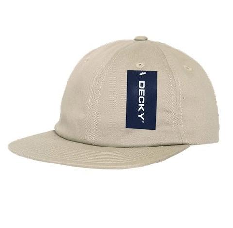 Relaxed Flat Peak Cotton Cap