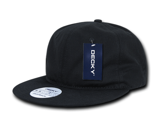 Relaxed Snapback Cap