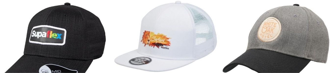 Promotional High-End Caps Decoration